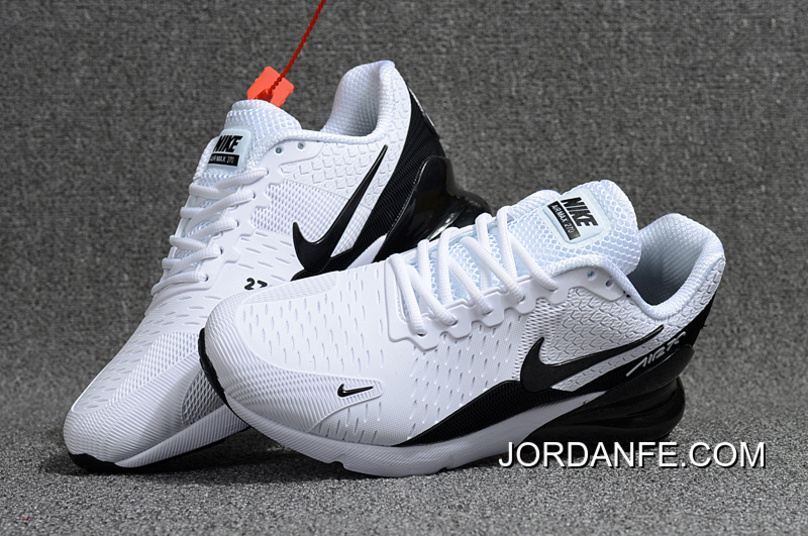 7a5a4c6ce13fdf 2018 Latest Nike Air Max Flair 270 2 Nanotechnology Plastic Zoom White Black