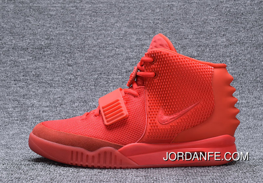 78f5494aaac NIKE AIR YEEZY 2 II RED OCTOBER 508214-660 2 For Sale