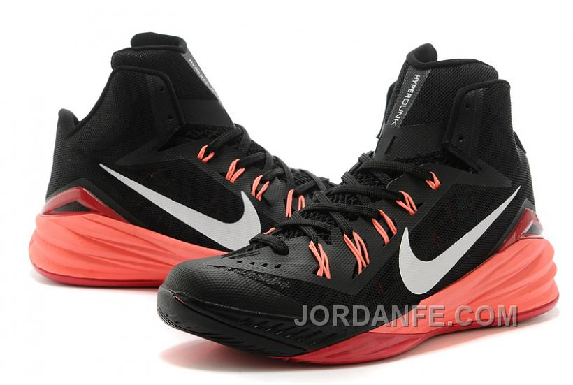 a6231c2d345 Nike Hyperdunk 2014 Black Red Authentic