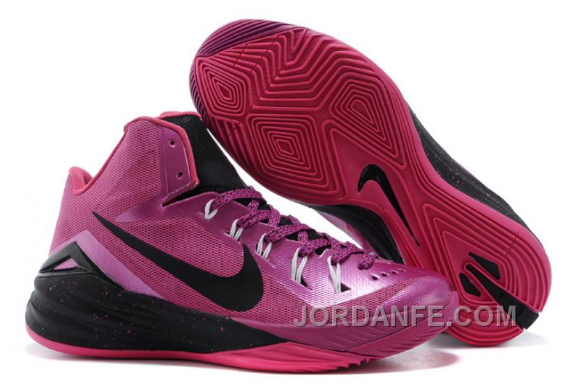 huge selection of 06eb2 6f48b Nike Hyperdunk 2014 Think Pink Shoes Free Shipping