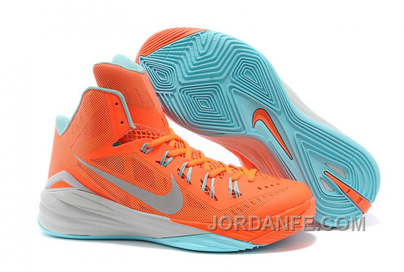 0b00d3a3083f Nike Hyperdunk 2014 XDR Women Orange Mint Green Free Shipping