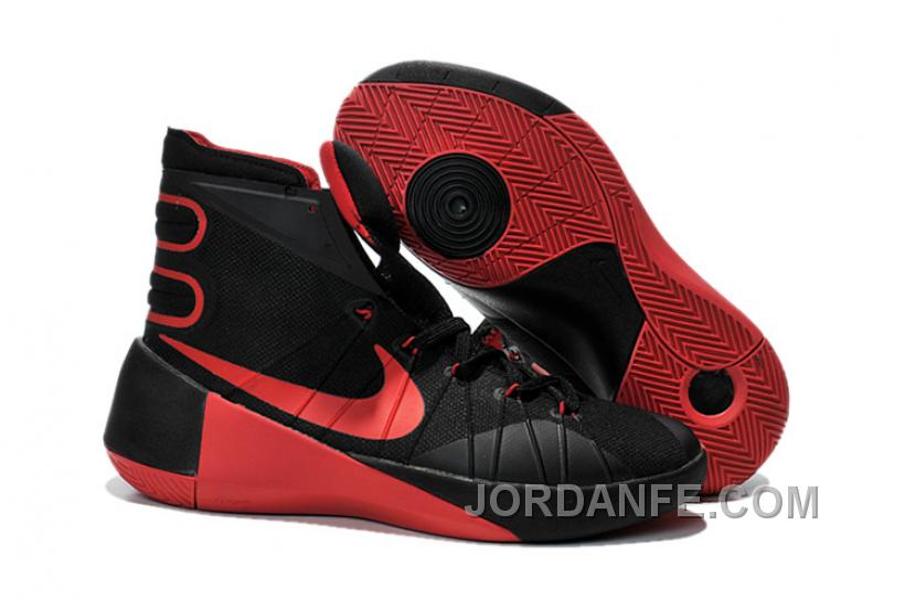 buy popular caa97 ba064 Nike Hyperdunk 2015 Black And Red For Sale, Price   85.82 - Air Jordan  Shoes, Michael Jordan Shoes, Jordan Shoes Online