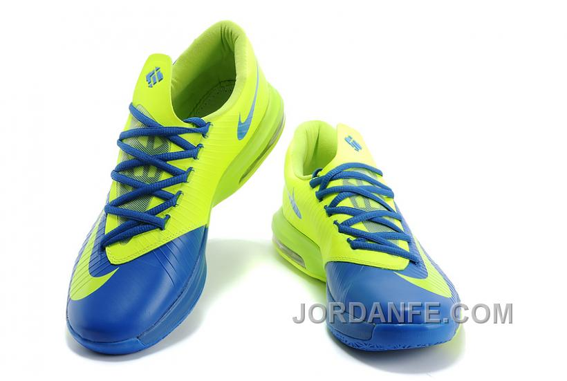 sneakers for cheap 9f297 972d1 Nike Kevin Durant KD 6 VI Royal Blue/Neon Green For Sale Top, Price ...
