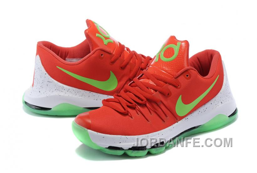 69151d1ea5c6 Nike KD 8 Custom Orange Green Super Deals