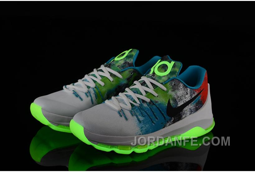 online store 3cd48 f8771 Nike KD 8 N7 Glows For Sale