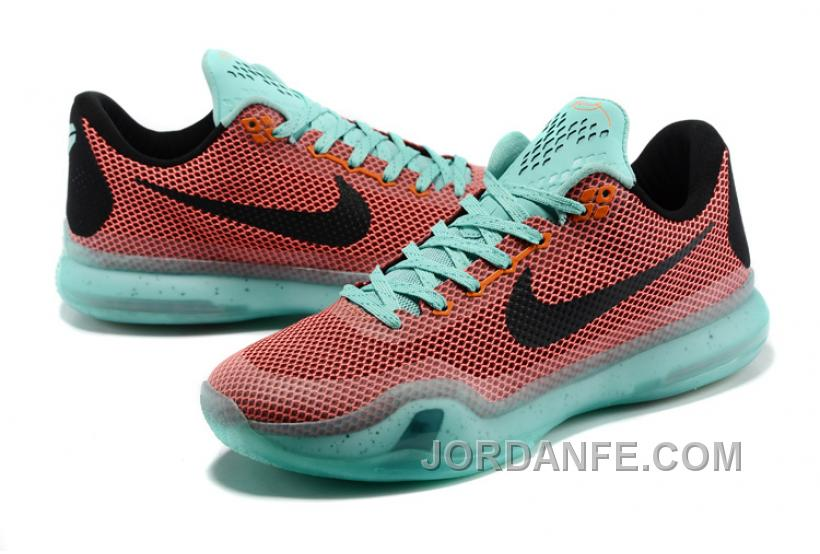 08a37cdc7516 Nike Kobe 10 X Easter Hot Lava Sunset Glow-Black New Release
