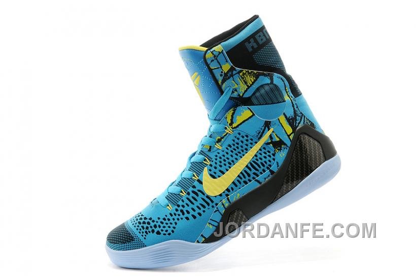 7e26bdaefea ... cheapest nike kobe 9 elite high top perspective neon turquoise volt  blue black authentic 50dd9 1a469