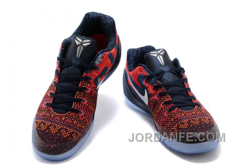 "25015df8822 Nike Kobe 9 EM ""Philippines"" Laser Crimson/Reflect Silver-Obsidian For Sale"