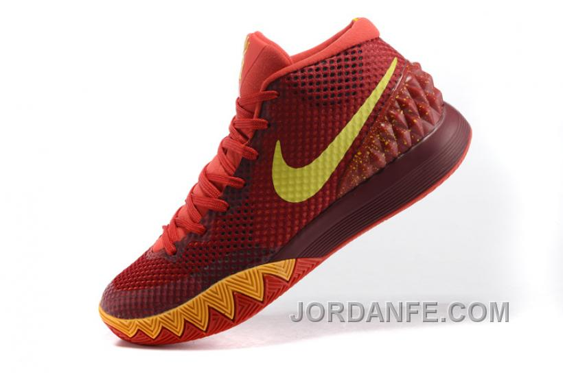 a3f1b9d4741 Nike Kyrie 1 Women Shoes Red Yellow Discount
