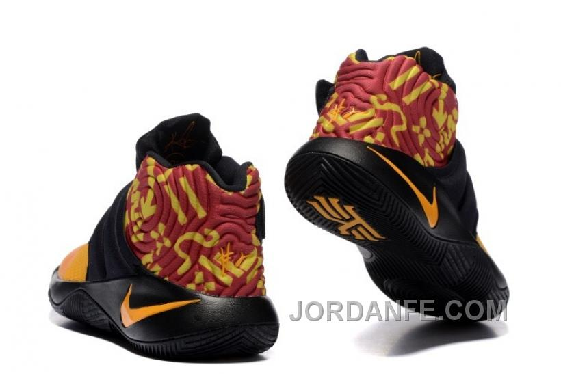 6002afe678a9 Nike Kyrie 2 Shoes Yellow Black Top