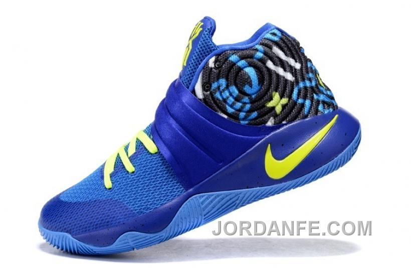 new arrivals 7883b 2daa5 Nike Kyrie 2 Sneakers Navy Blue Authentic