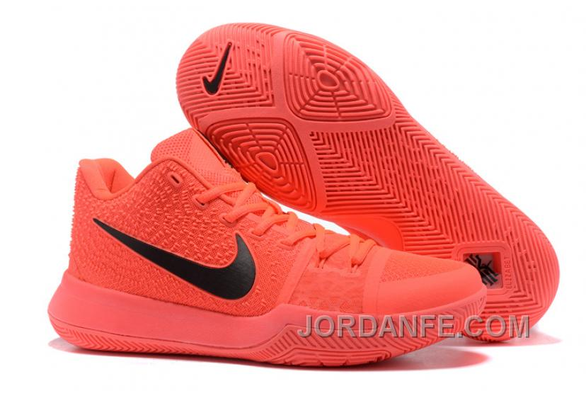 d062d6175bb ... Red Nike Kyrie 3 Mens BasketBall Shoes All Orange Authentic S7c3hG ...