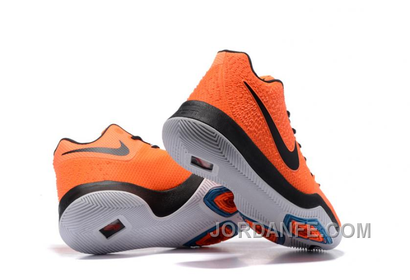 sports shoes 815f8 43391 ... italy nike kyrie 3 mens basketball shoes orange black authentic ac3be  a3081