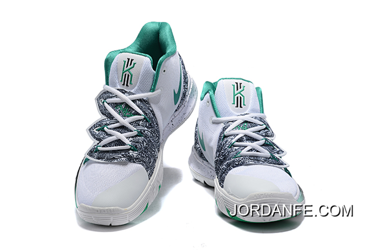 super popular 37f27 8faf1 Big Deals Nike Kyrie 5 Celtics PE White Black-Green
