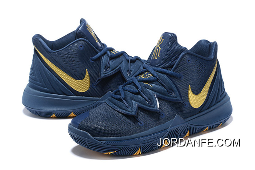 """369c5e88067 Where To Buy Nike Kyrie 5 """"Philippines"""" Navy Blue Gold"""