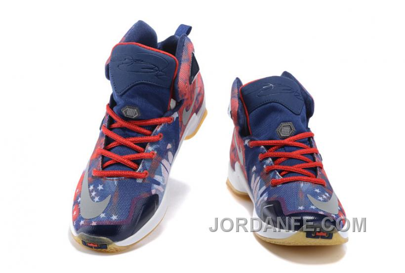 30e85d37f80 Nike LeBron 13 Grade School Shoes American Star Xmas Deals