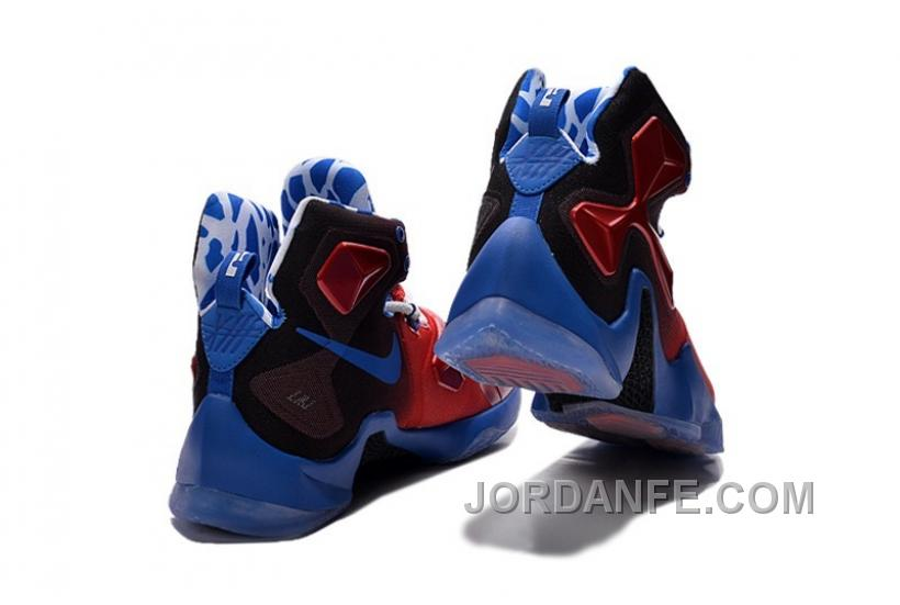 bde07d36aaf Nike LeBron 13 Grade School Shoes Captain America Hot