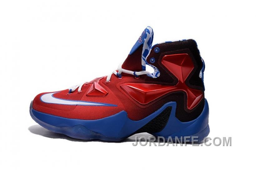buy popular b9cfd 0842b Nike LeBron 13 Grade School Shoes Captain America Hot