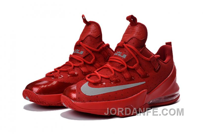 purchase cheap ce411 6fbd1 Nike Lebron 13 Low Red Grey Free Shipping
