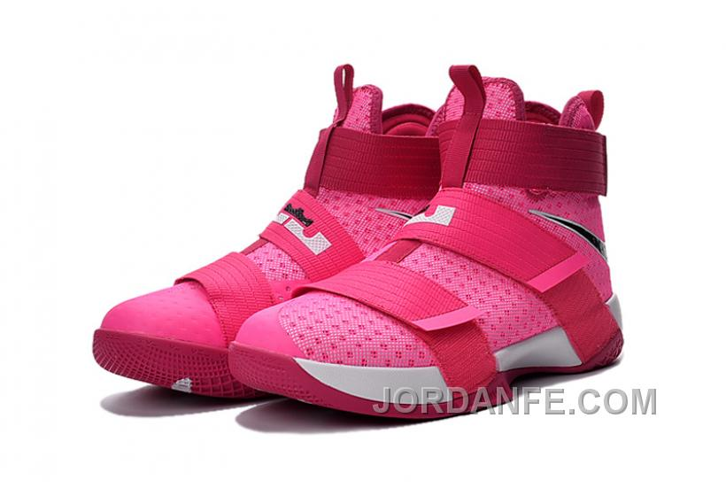 c884d7f106975 Nike Lebron Soldier 10 Think Pink Top