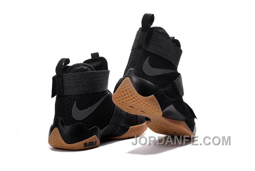 6c028079d Nike Lebron Soldier 10 SFG Black Gum For Sale