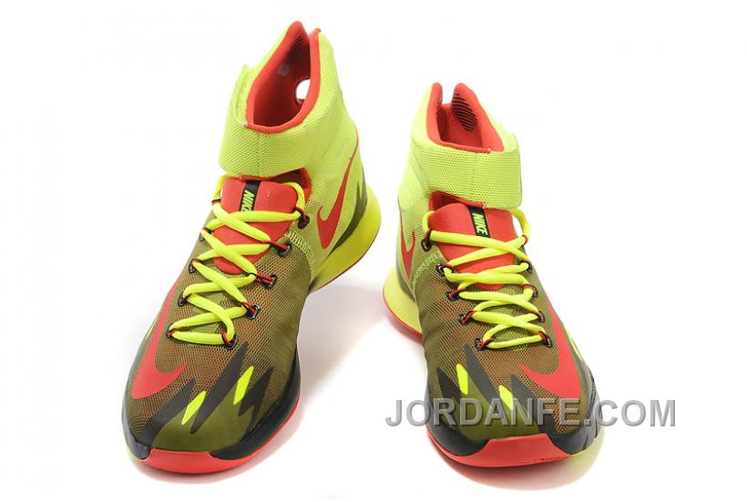 2b115668b67d Nike Zoom Hyperrev KYRIE IRVING Volt Bright Crimson-Yellow For Sale Discount