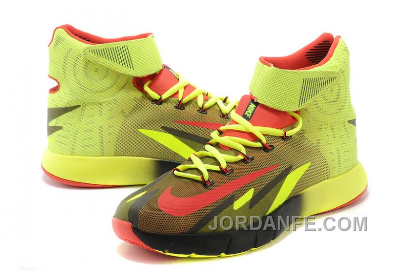 83d353398555 Nike Zoom Hyperrev KYRIE IRVING Volt Bright Crimson-Yellow For Sale Discount