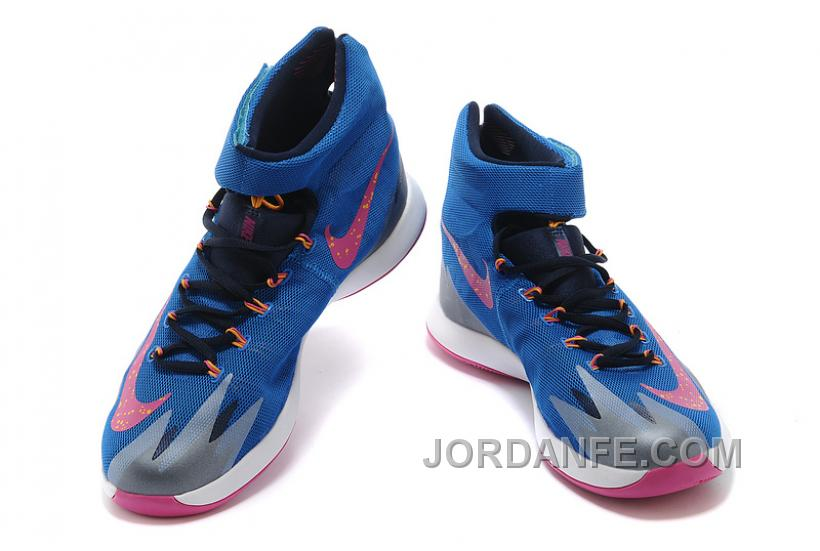 Nike Zoom Hyperrev KYRIE IRVING Photo Blue Vivid Pink Midnight Navy ... 4a196b90f