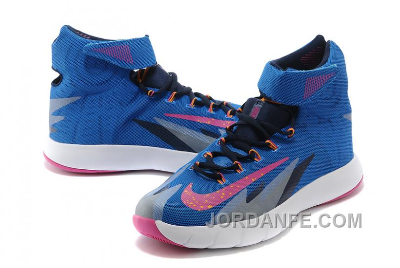 7a011513d7ea Nike Zoom Hyperrev KYRIE IRVING Photo Blue Vivid Pink Midnight Navy ...