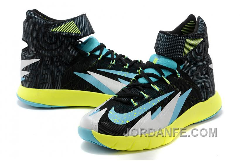 NK Zoom Hyperrev KYRIE IRVING Black/Venom Green/Metallic Silver/Turbo Green