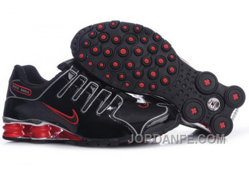 official photos 12371 fd563 Men s Nike Shox NZ Shoes Black Red Silver Cheap To Buy