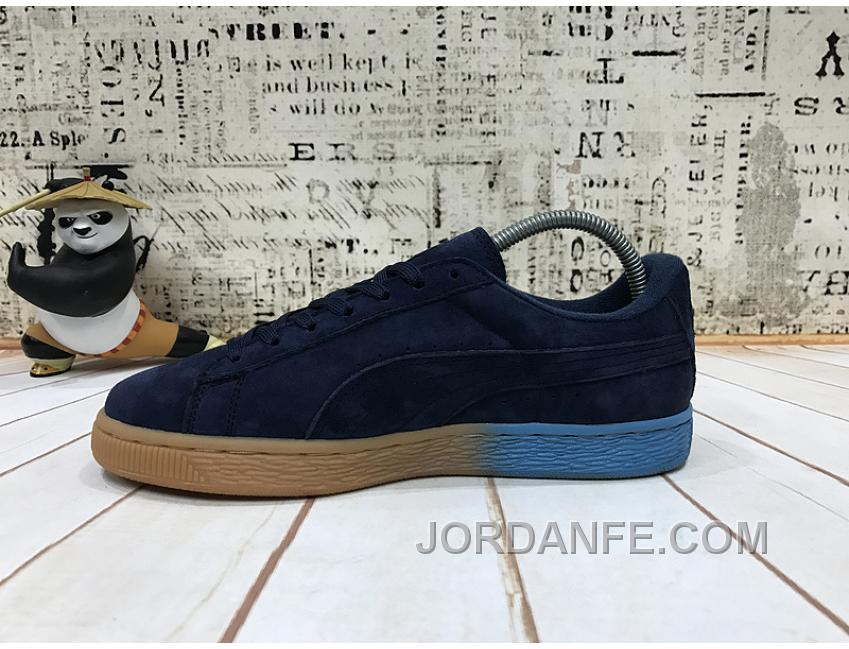 393fd5b77e5a32 Puma X Pink Dolphin Suede Capsule Collection Black Blue Women Men Lastest