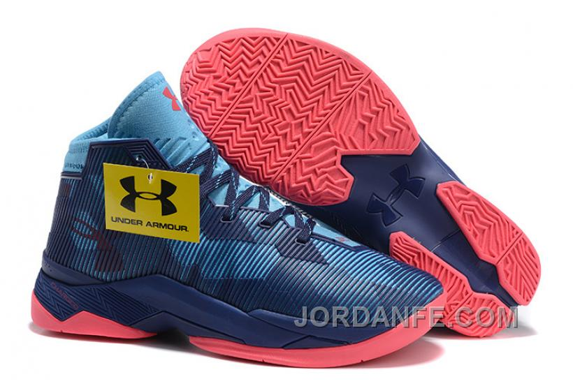 purchase cheap 30e71 6a6a0 Under Armour Curry 2.5 Deep Blue New Arrival