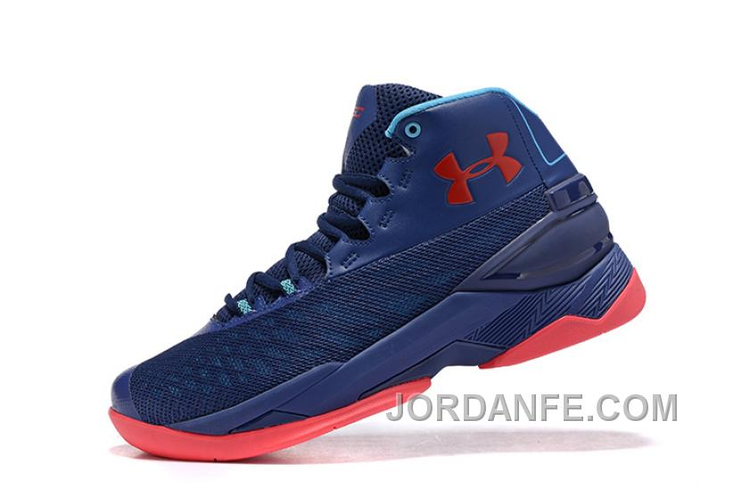 Buy Under Armour Curry 3.5 Blue Red Mens Shoes New Release