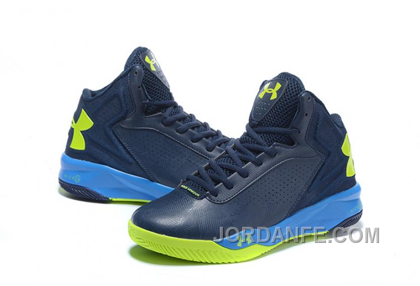 factory authentic 0a348 6330a Under Armour Micro G Torch Blue Fluorescent Green Sneaker Lastest